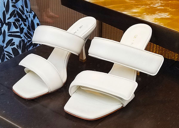 Strapped summer sandals