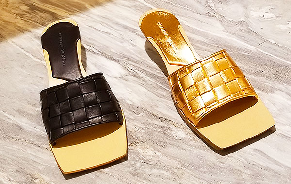 Bottega slides for summer
