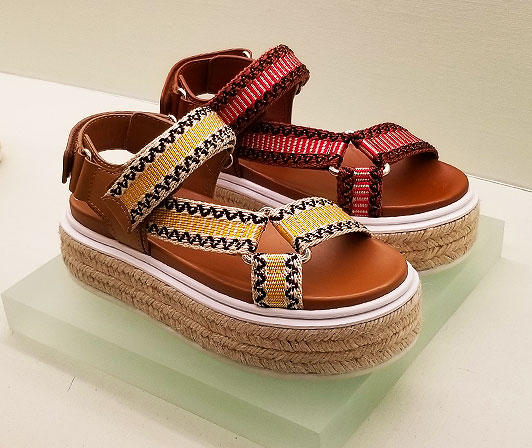 Espadrille sandals from Prada