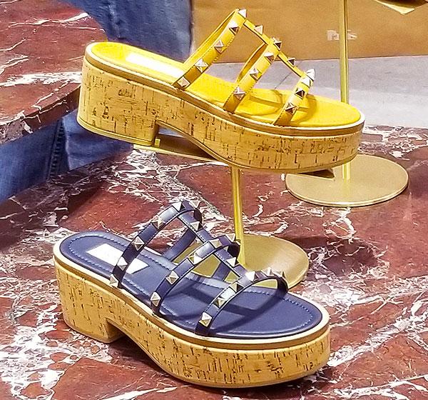 Platform sandals for summer