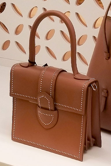 Stud details on an Alaia Spring bag