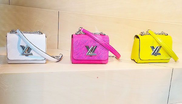 Vuitton Twist bags for spring