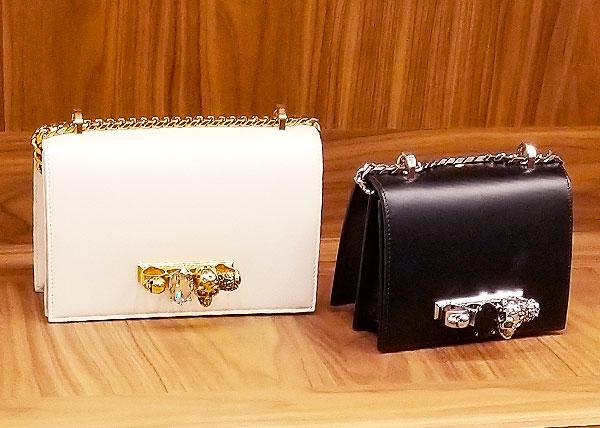 McQueen Chain Shoulder Bags