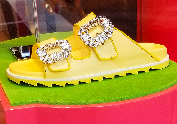 Jeweled sandals for summers end
