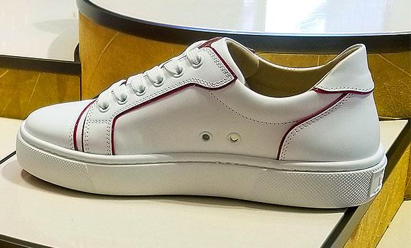 A spring sole mate sneaker