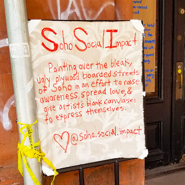 Soho Social Impact