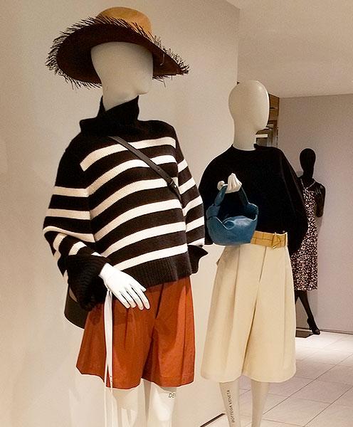 stripe knits speak volumes