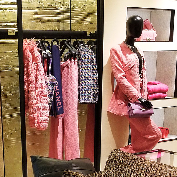 Chanel pink clothing