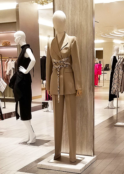 Neitral taupe suit