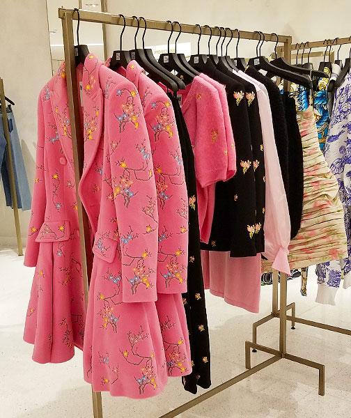 Moschino pink coat