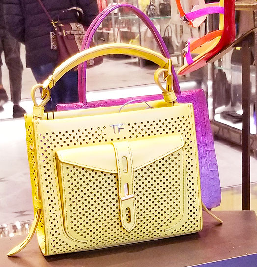 Tom Ford colorful bags of spring