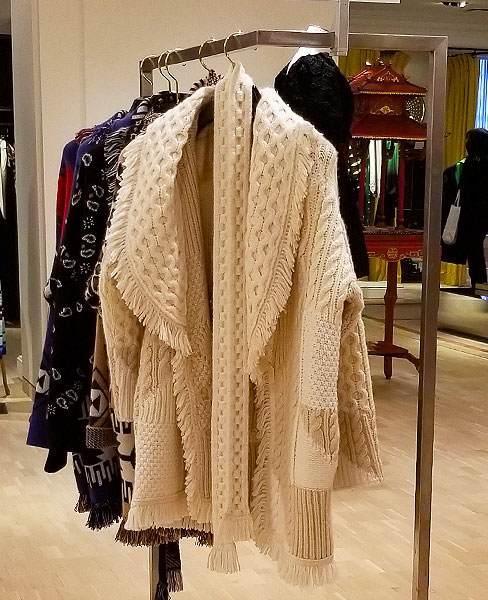 A knit coat speaks to you