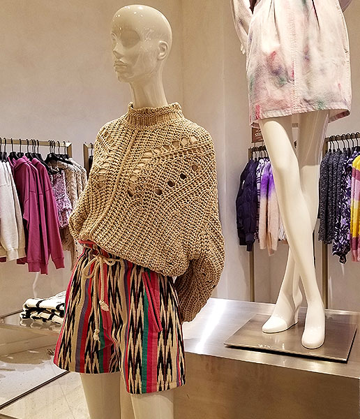 Spring knits with attitude