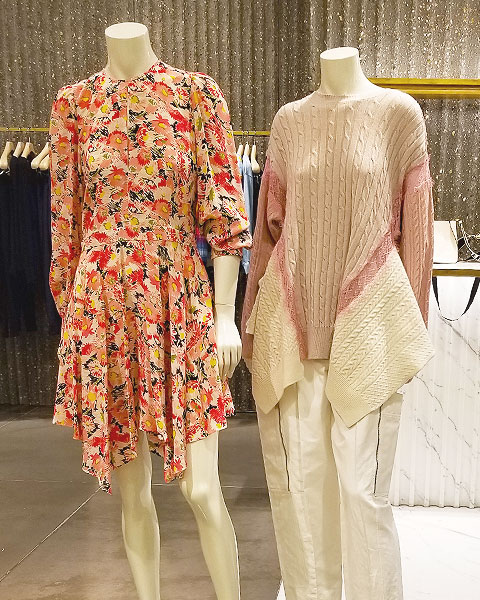 Spring knits in many colors
