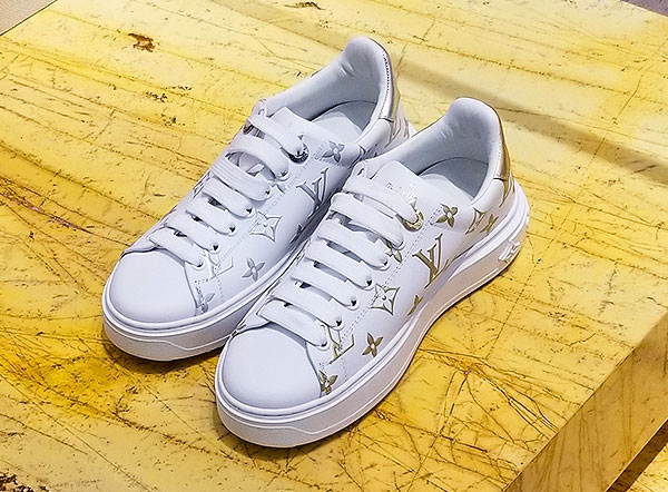 Low rider Vuitton sneakers