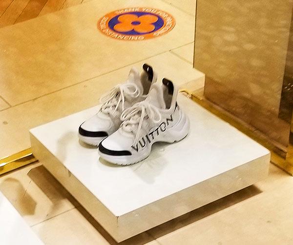 Vuitton sneakers