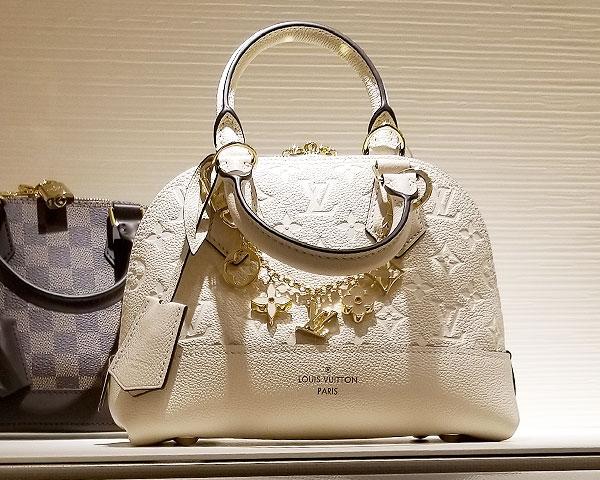 Louis Vuitton white bag