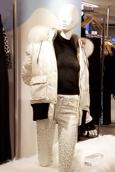 WHite head to toe for winter