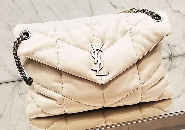A YSL off white bag