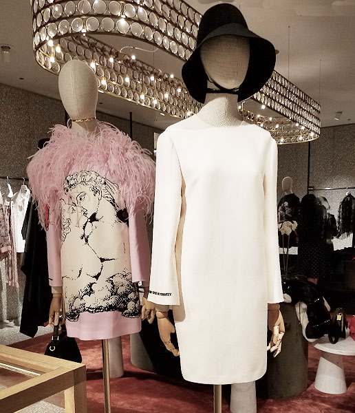 Wear White Valentino Dress