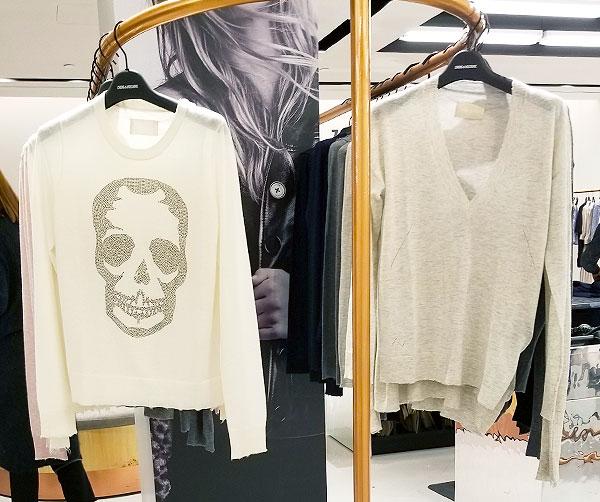Winter White Zadig sweater