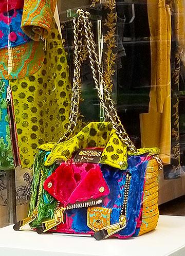 Colorful Moschino Bag