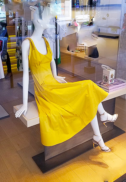 Dress up in sunny yellow
