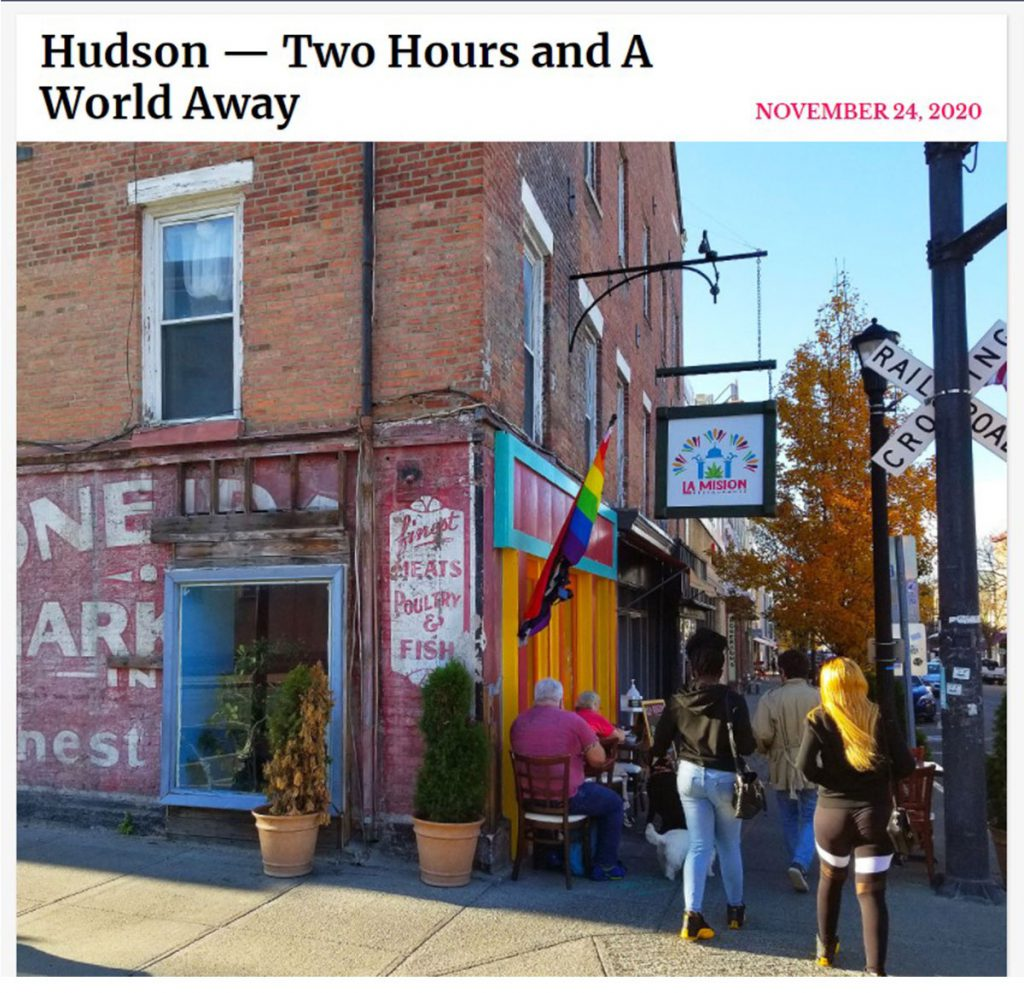Hudson NY in New York Social Dairy